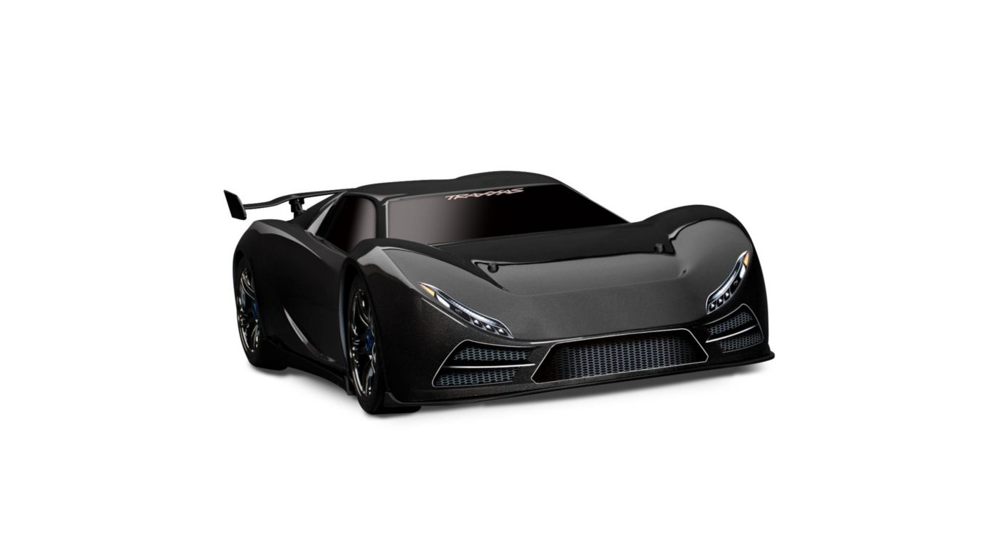 Image for XO-1 1/7 Scale AWD Supercar w/ TQi 2.4 Radio  Black from HorizonHobby