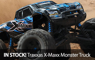 Traxxas X-Maxx IN-Stock Monster Truck Brushless