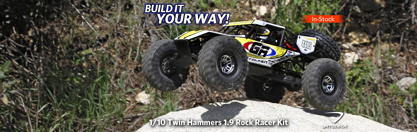 1/10 Twin Hammers 1.9 Rock Racer Kit
