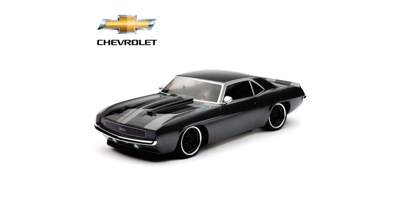 Image for 1/10 1969 Chevrolet Camaro RS RTR, V100-S from HorizonHobby