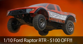 Vaterra Ford Raptor On Sale