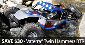 Twin Hammers Rock Racer RTR Save Sale