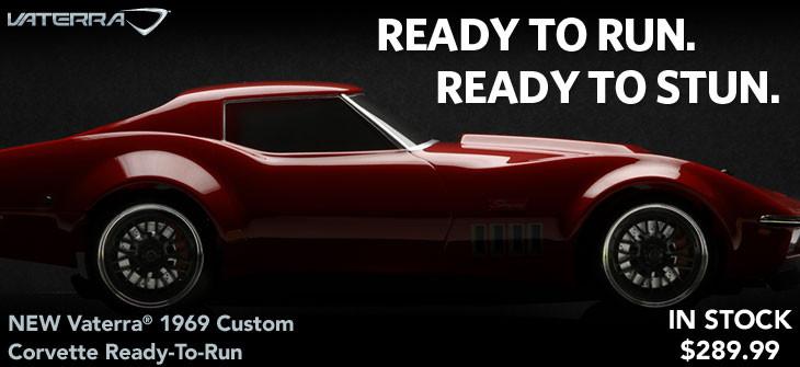 1/10 1969 Custom Corvette RTR