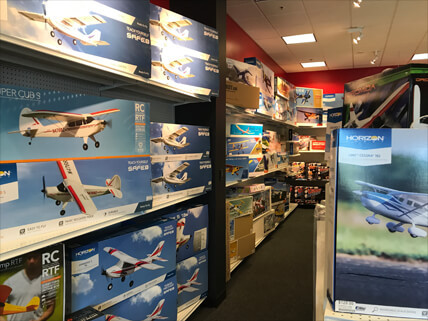 D's RC Hobbies - Inside the store photo 2.