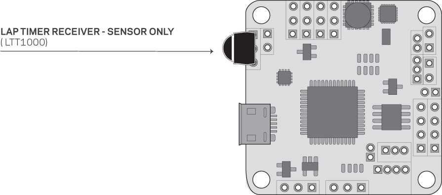 Laptimer Receiver - Sensor Only (LTT1000)