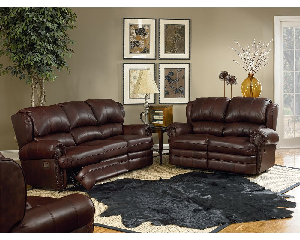 Lane Leather Reclining Sofa Garrett Reclining Sofa By Lane
