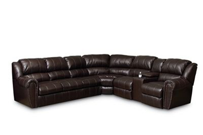 Summerlin Reclining Sectional Sectionals Lane Furniture ~ Leather Sofa And Recliner