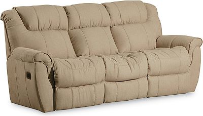 Montgomery Double Reclining Sofa Lane Furniture ~ Leather Dual Reclining Sofa