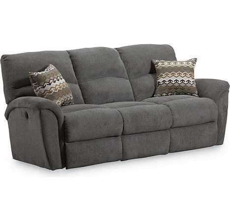 Grand torino double reclining sofa power from the grand for Furniture 7 customer service