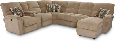 Grand Torino Reclining Sectional  sc 1 st  Lane Furniture : sectional with recliner - Sectionals, Sofas & Couches