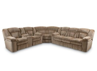 Talon Reclining Sectional  sc 1 st  Lane Furniture : reclining sectional leather - Sectionals, Sofas & Couches