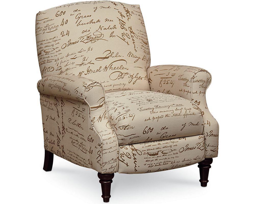 High leg reclining chairs - Chloe High Leg Recliner