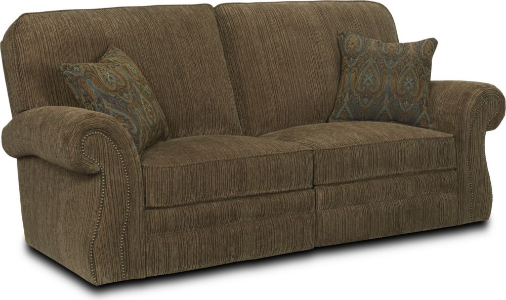 Double Reclining Sofa ~ Two Cushion Reclining Sofa