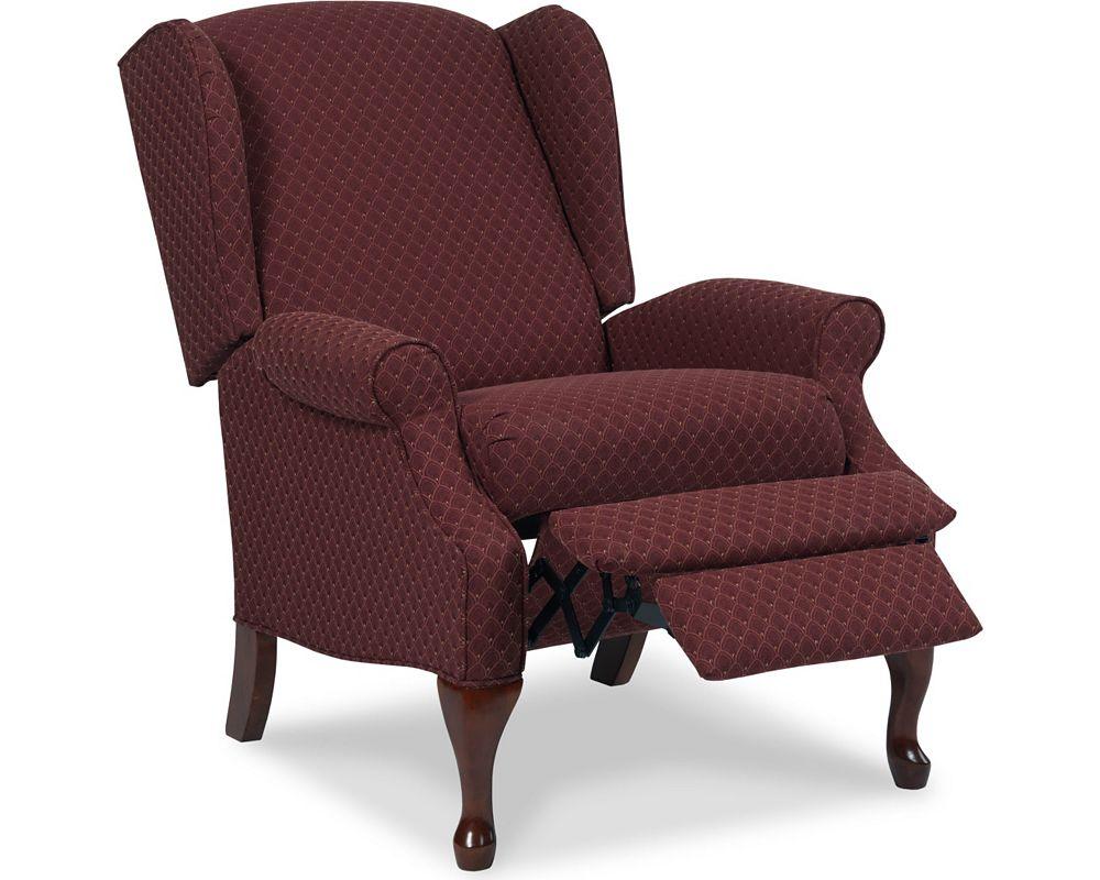 Queen anne chair history - Hampton High Leg Recliner