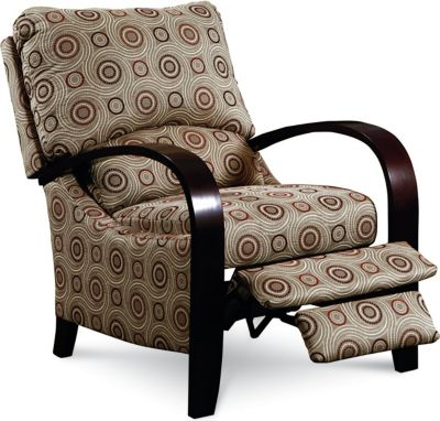 Julia High-Leg Recliner  sc 1 st  Lane Furniture : wood arm recliner - islam-shia.org