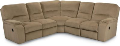 Thad Reclining Sectional  sc 1 st  Lane Furniture : sectional with recliner - Sectionals, Sofas & Couches