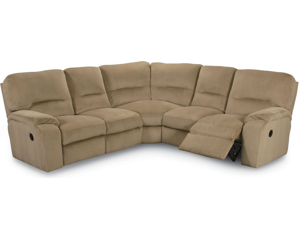 Glider and recliner flash contemporary thomas leather for Lane sectional sofa with recliner