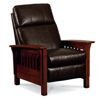 Lazy Boy Mission Style Recliner Bar And Kitchen Chair