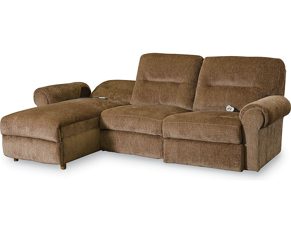 Brandon Reclining Sectional Sectionals Lane Furniture