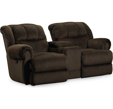 Evans reclining rocking console loveseat from the evans for Furniture 7 customer service