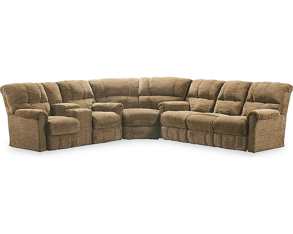 Griffin Reclining Sectional Sectionals Lane Furniture