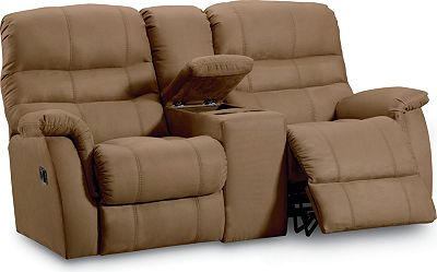 Comfortable Recliner Couches lane garrett double reclining console loveseat | lane furniture