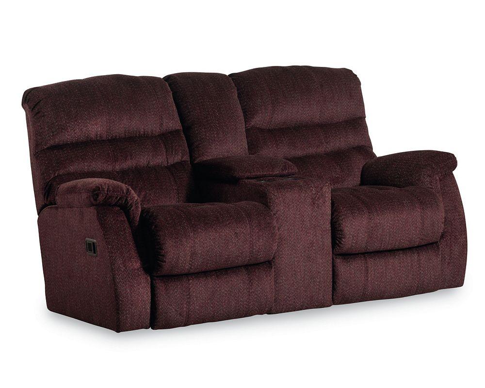 Garrett Double Reclining Console Loveseat - Lane Garrett Double Reclining Console Loveseat Lane Furniture