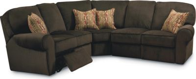 Megan Reclining Sectional  sc 1 st  Lane Furniture : recliner sofa sectional - Sectionals, Sofas & Couches