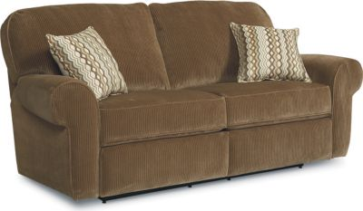 Megan Double Reclining Sofa  sc 1 st  Lane Furniture : double recliner couch - islam-shia.org