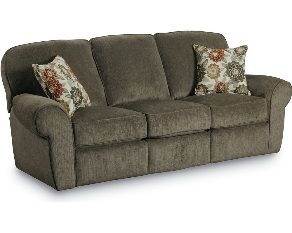 Molly double reclining sofa lane furniture Loveseats with console