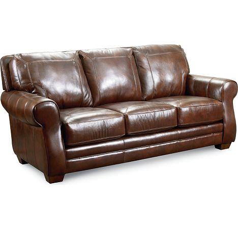 Lane leather sofa lane bowden leather sofa collection for Leather sectional sofa lane