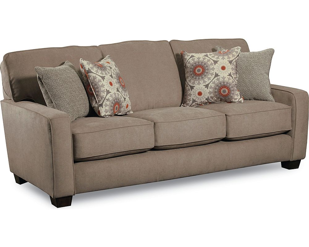 Ethan sleeper sofa queen lane furniture Sofa loveseat