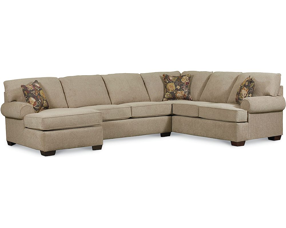 Lane furniture sectional sofa reclining sectionals couches for Sectional sofa with a recliner
