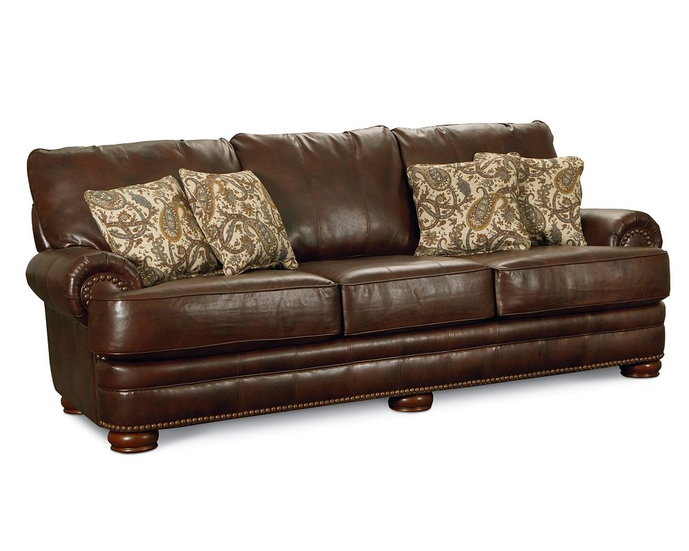 Lane leather sofa 711 3 jpg thesofa for Leather sectional sofa lane
