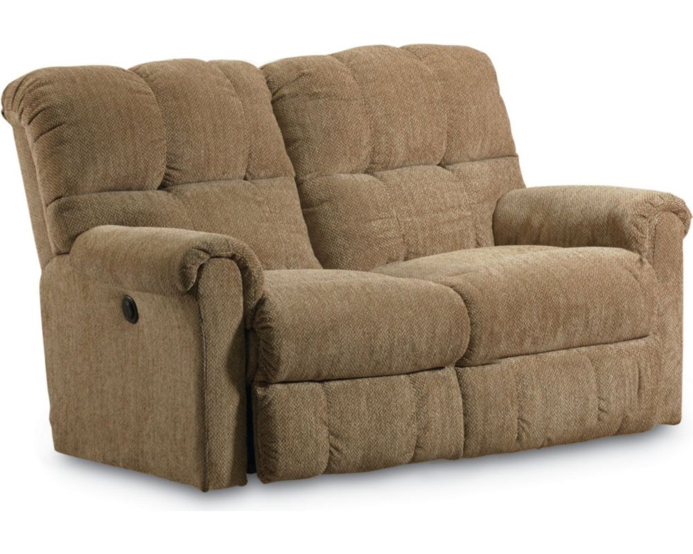 Griffin double reclining loveseat lane furniture Loveseats that recline