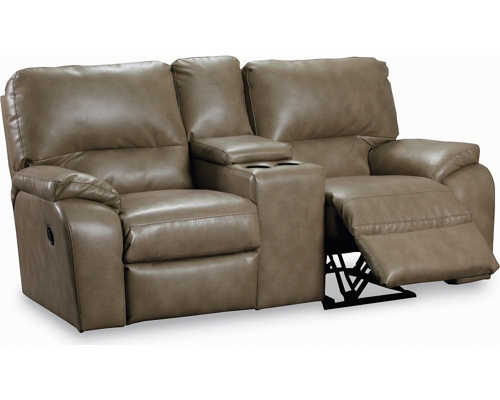 Lane Thad Double Reclining Console Loveseat