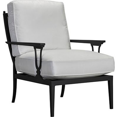 Lounge Chair - X Back