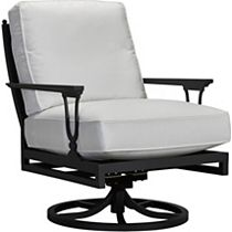 Swivel Rocker Lounge Chair - Mesh Back