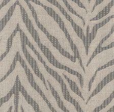 Zebra Linen Charcoal