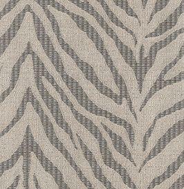 Zebra Linen Charcoal (Exclusive)