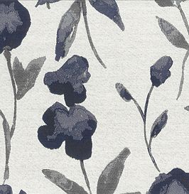 Watercolor Stems Indigo (Exclusive)