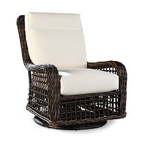 High Back Swivel Glider Lounge Chair