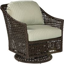 Lounge Chair Swivel Glider