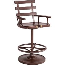 Marlin Swivel Bar Stool