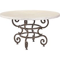 Florentine Round Dining Table