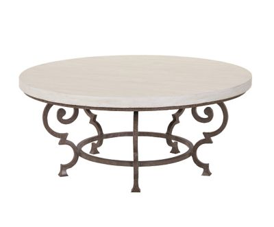florentine round cocktail table