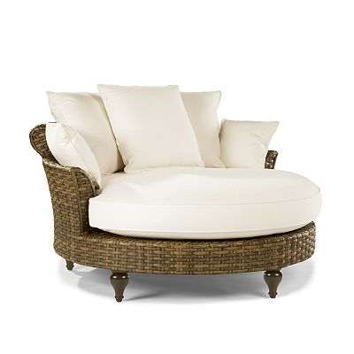 Circular Chaise from the Cameroon Synthetic collection at