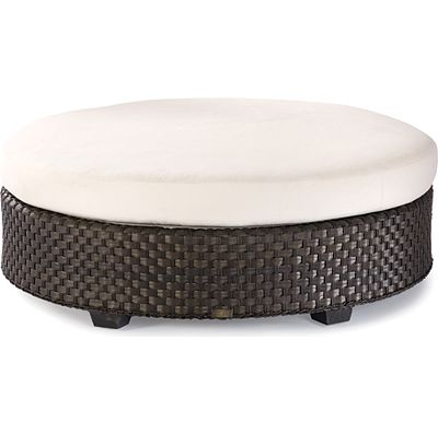 Large Round Ottoman : Large Round Seated Ottoman from the Leeward collection at LaneVenture ...