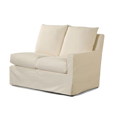 Elena RF One Arm Loveseat