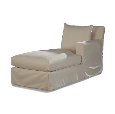 Douglas RF One Arm Chaise - Club